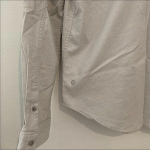 Lululemon slim fit button down collared shirt